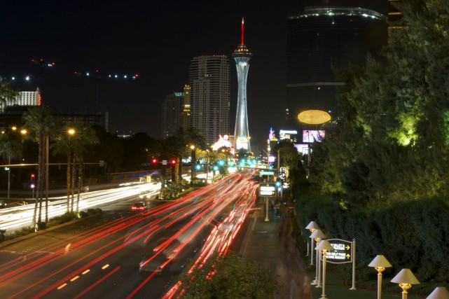 Vue de la Strip, à Las Vegas.... (PHOTO THINKSTOCK)
