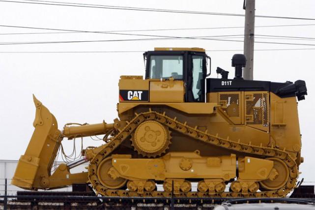 La forte demande pour l'équipement de construction a permis à Caterpillar... (Photo archives Reuters)
