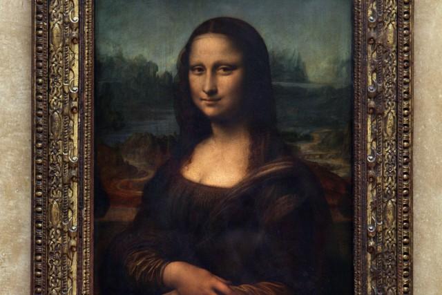 La Joconde, le célèbre tableau de Léonard de... (Photo Jean-Pierre Muller, archives AFP)