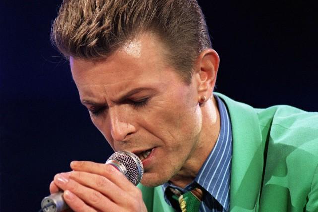 David Bowie... (Archives AFP, Thierry Saliou)