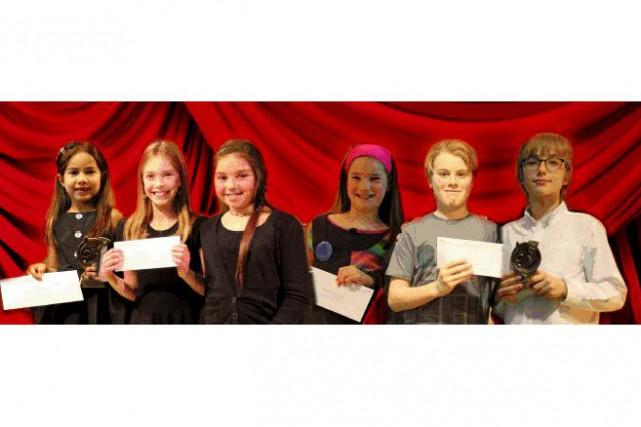 On reconnaît les gagnants des premières places, Liana...