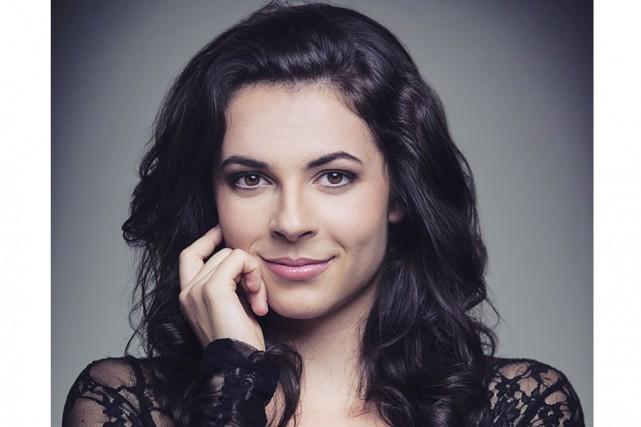 La jeune soprano Magali Simard-Galdès a mis sur... (Brent Calis)