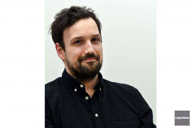 Le cinéaste Philippe David Gagné a remporté le... (Photo Le Quotidien, Rocket Lavoie)