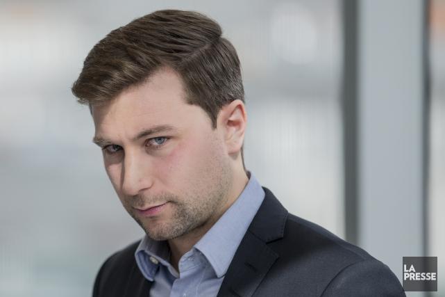 Gabriel Nadeau-Duboisse voit déjà chef de Québec solidaire,... (La Presse)