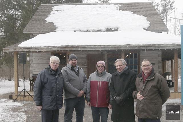 La vieille ferme devient le Pavillion des Pionniers,... (Etienne Ranger, Le Droit)