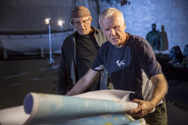 Le réalisateur canadien James Cameron travaille simultanément sur... (La Presse canadienne, Discovery Channel)