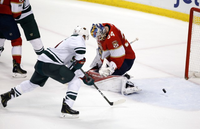 Zach Parise... (photo Wilfredo Lee, AP)