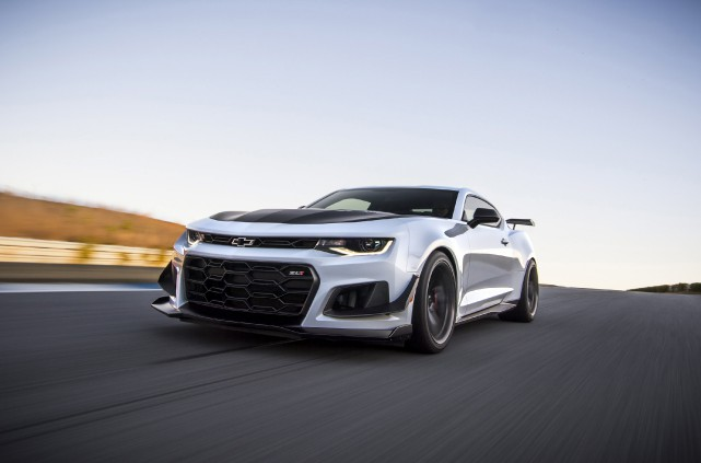 La Chevrolet Camaro ZL1 1LE 2018.... (Photo : Chevrolet)