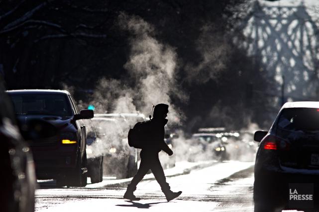 Environnement Canada annonce des températures presque aussi froides... (Photo Patrick Sanfaçon, Archives La Presse)