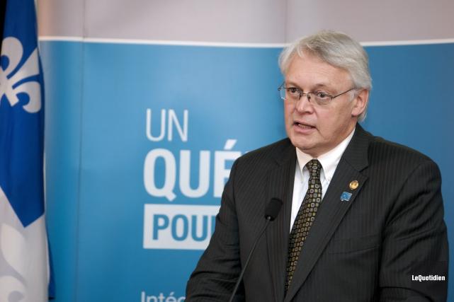 Le député de Gaspé, Gaétan Lelièvre... (Photo archives Le Quotidien)