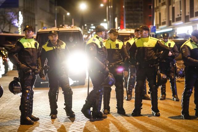 La crise diplomatique entre les Pays-Bas et la... (Photo Bas Czerwinski, AFP)