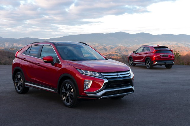 Le Mitsubishi Eclipse Cross... (PHOTO FOURNIE PAR LE CONSTRUCTEUR)