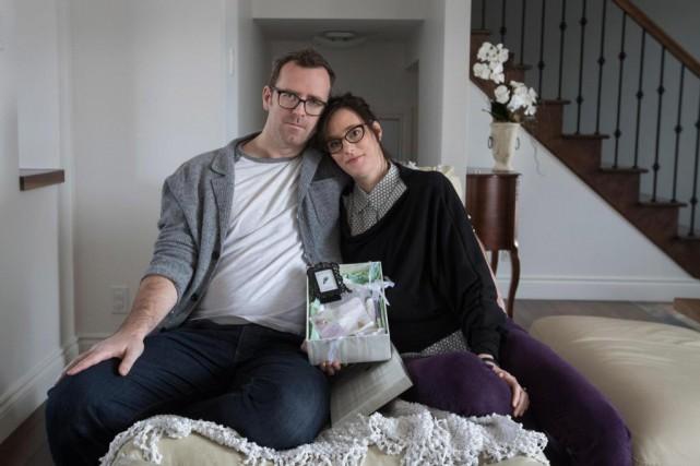 Philippe Martin et Mélissa Gilbert ont perdu leur... (PHOTO IVANOH DEMERS, LA PRESSE)