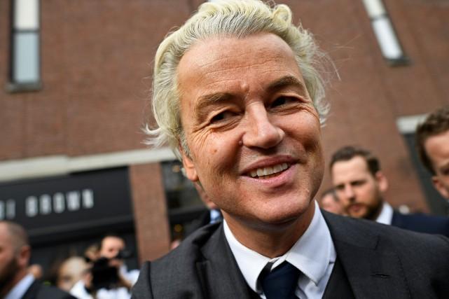 Geert Wilders... (PHOTO Dylan Martinez, REUTERS)