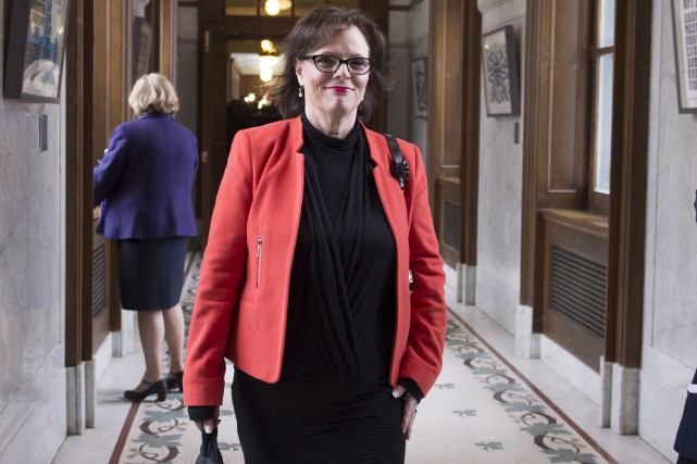 La ministre déléguée à la Réadaptation, à la... (PHOTO JACQUES BOISSINOT, ARCHIVES LA PRESSE CANADIENNE)