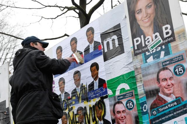 Le Parti libéral populaire et démocrate de Mark... (Photo Bas Czerwinski, AFP)