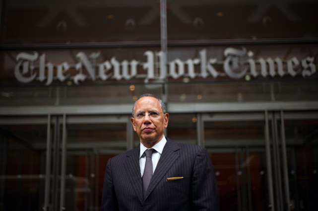 Le rédacteur en chef du New York Times,... (PHOTO TODD HEISLER, ARCHIVES THE NEW YORK TIMES)