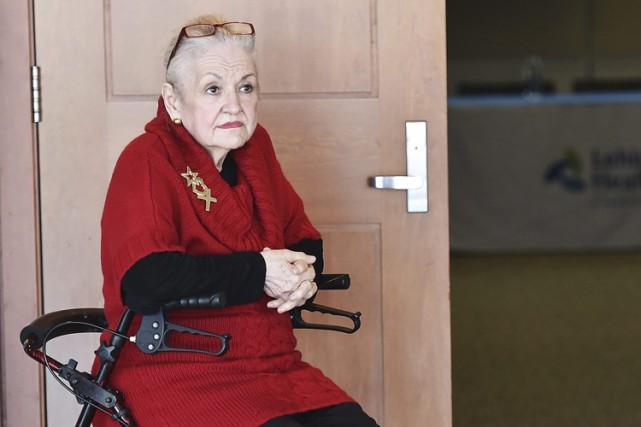 Mary Clanceypèse maintenant moins de 68 kilos et... (PHOTO AP)