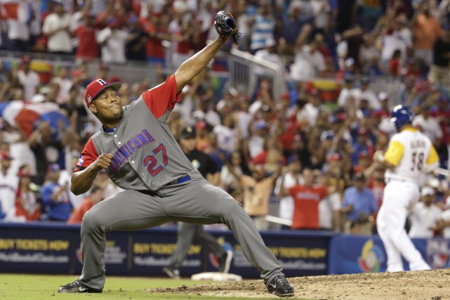 Le lanceur Jeurys Familia a confirmé la victoire... (Photo Lynne Sladky, AP)