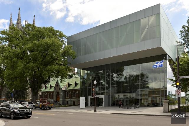 Le pavillon Pierre Lassonde du Musée national des... (Photothèque Le Soleil, Patrice Laroche)