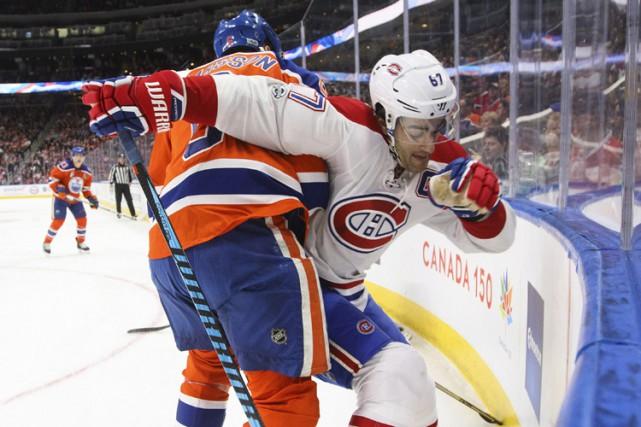 Relisez le clavardage du match entre le Canadien et les Oilers d'Edmonton avec... (PHOTO PC)
