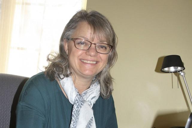 La mairesse d'Austin, Lisette Maillé, veut doter ses... (La Tribune, Jean-François Gagnon)