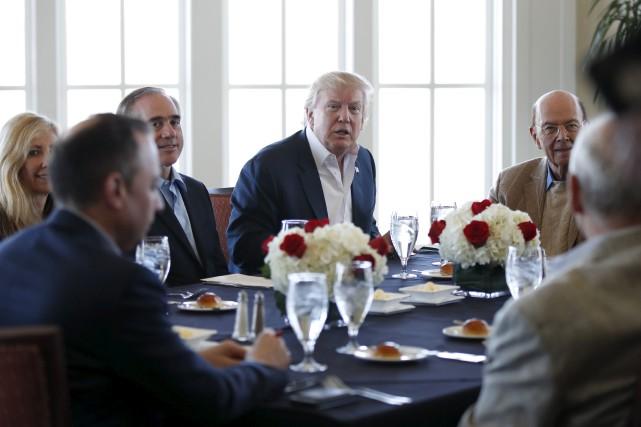Questionné à savoir si Donald Trump sera évincé... (AP, Manuel Balce Ceneta)