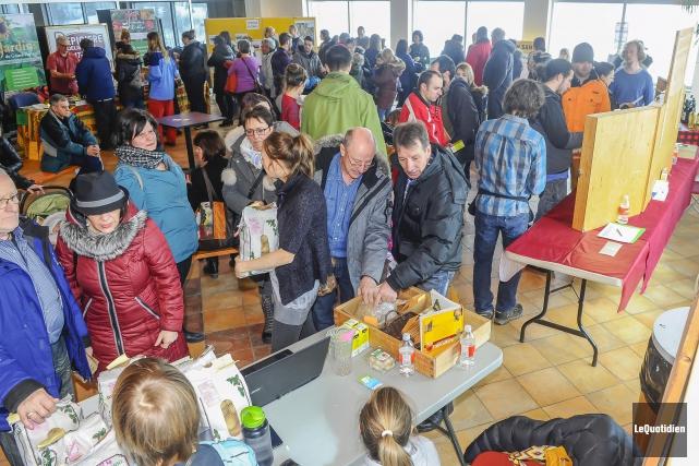 La Fête des Semences du Saguenay-Lac-Saint-Jean, qui se... (Photo Le Quotidien, Gimmy Desbiens)