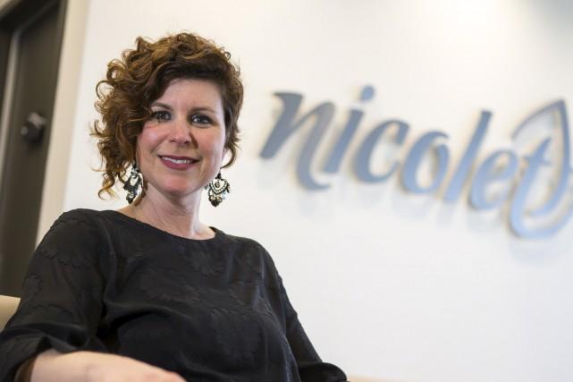 La mairesse de Nicolet, Geneviève Dubois.... (Olivier Croteau)