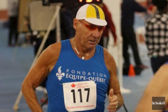 Marcel Jobin détient maintenant quatre records canadiens dans... (Photothèque Le Soleil)