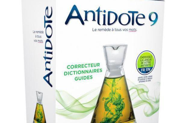 Derniere version d' Antidote (numero 9) cree par... (Photofournie par Druide Informatique)