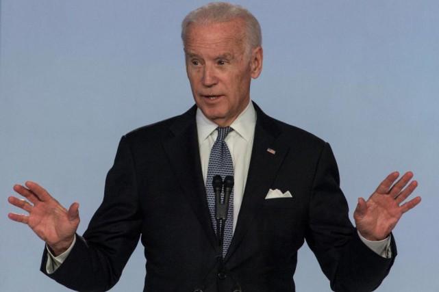 L'ancien vice-président Joe Biden compte parmi les conférenciers... (photo ana venagas, archives associated press)
