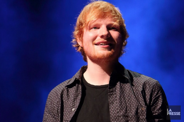 L'auteur-compositeur-interprète britannique Ed Sheeran sera l'invité vedette de... (PHOTO ARCHIVES LA PRESSE)