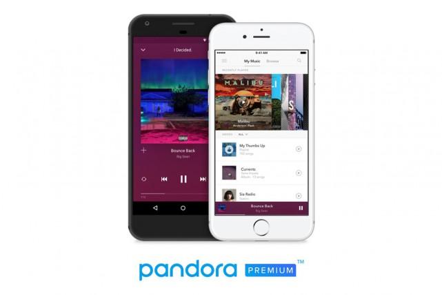 Le service de radio en ligne Pandora va lancer mercredi sa nouvelle offre de... (Photo tirée de Twitter)