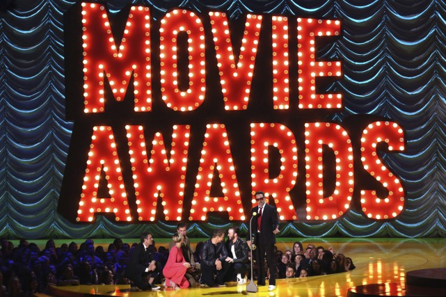 Les MTV Movie Awards, récompenses attribuées par le public de la chaîne... (PHOTO ARCHIVES AP)