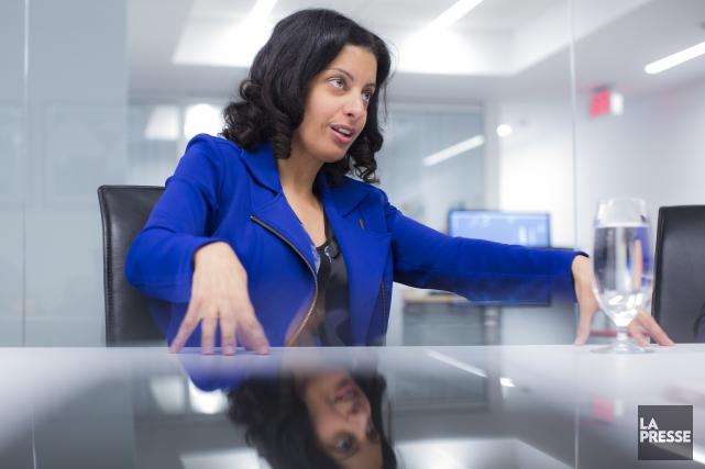 La ministre de l'Économie et de l'Innovation, Dominique... (Photo Edouard Plante-Fréchette, archives La Presse)