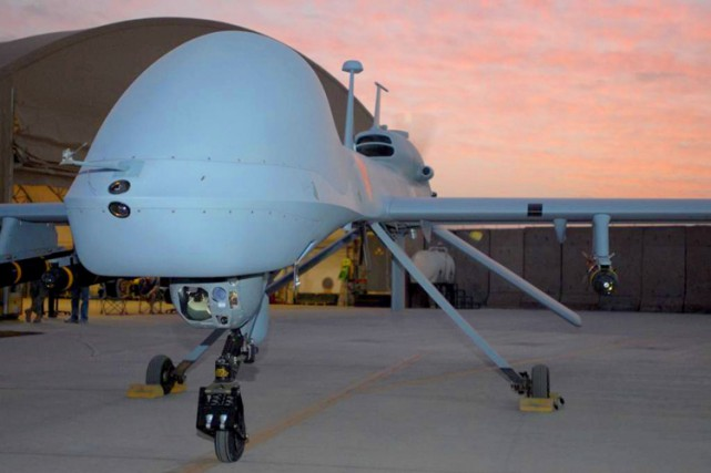 Les drones Gray Eagle MQ-1C (photo) sont une... (PHOTO AFP)