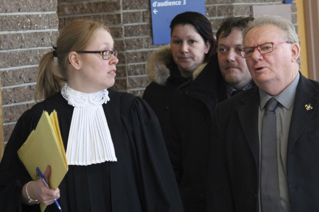 La procureure aux poursuites criminelles Me Marie-Line Ducharme... (La Tribune, René-Charles Quirion)