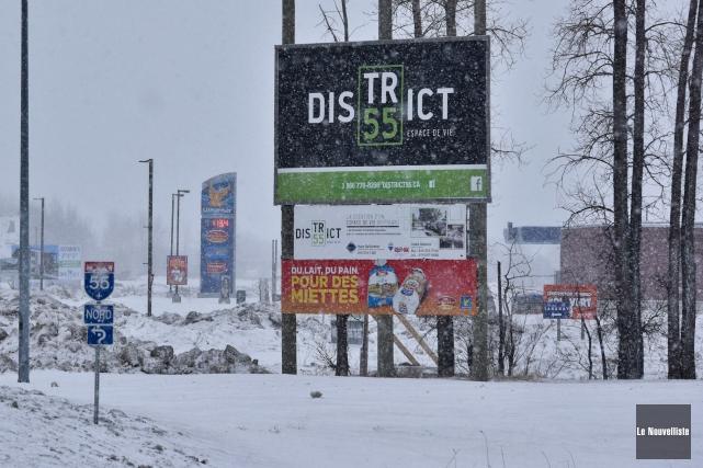 C'est au District 55 que sera construit le... (François Gervais, Le Nouvelliste)
