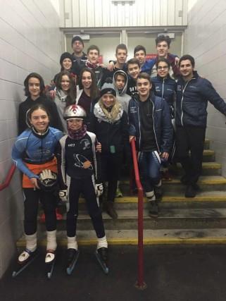 Un total de 14 patineurs de la région,... (Photo courtoisie)