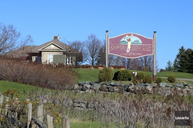Le club de golf de Lac-Brome est à... (archives La Voix de l'Est)