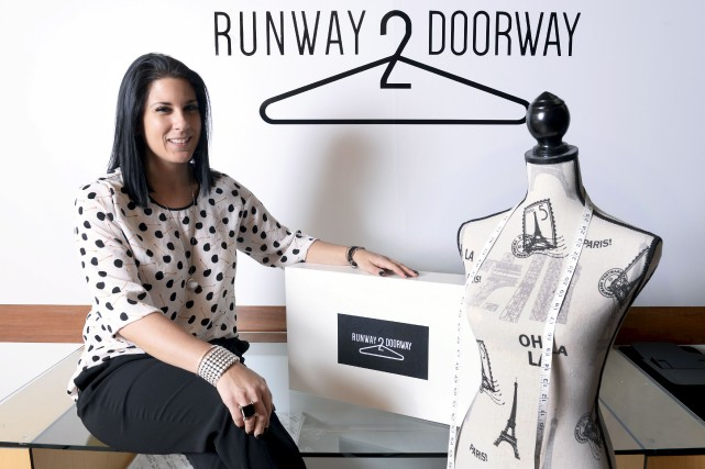 Marie-Chrystelle Cheikha, fondatrice de Runway 2 Doorway... (Le Soleil, Jean-Marie Villeneuve)