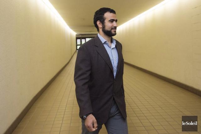 Omar Khadr, emprisonné à Guantanamo, a été blessé... (Photothèque Le Soleil)