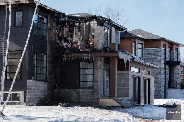 Une maison neuve de la rue des Ardennes dans le secteur Trois-Rivières-Ouest a... (Photo: François Gervais Le Nouvelliste)