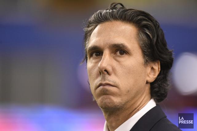 L'entraîneur-chef de l'Impact, Mauro Biello.... (PHOTO BERNARD BRAULT, ARCHIVES LA PRESSE)