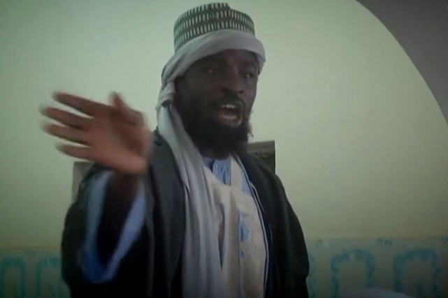 Abubakar Shekau, leader de Boko Haram.... (Photo archives Agence France-Presse)