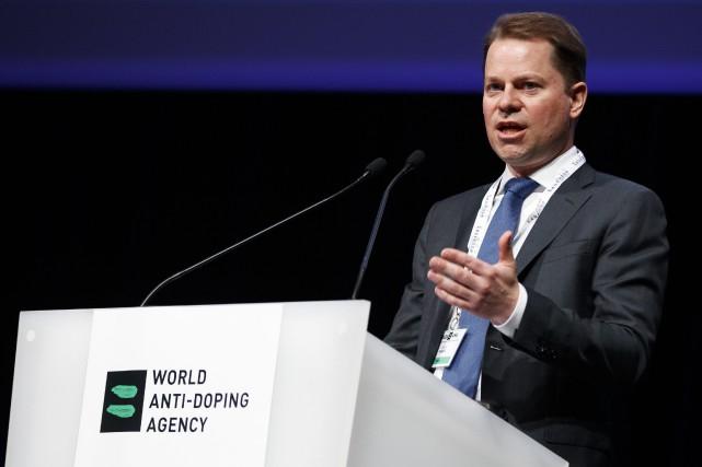 Le directeur général de l'Agence mondiale antidopage, Olivier... (Photo Valentin Flauraud, AP)
