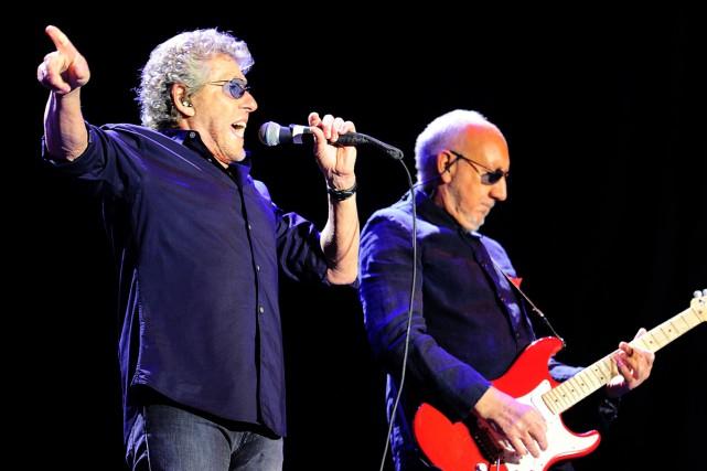 Roger Daltrey et Pete Townshend de The Who... (PHOTO ARCHIVES AFP)