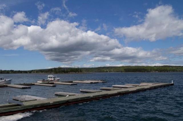 La marina de Guysborough, en Nouvelle-Écosse... (www.novascotia.com)