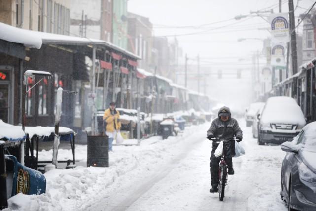 À Philadelphie, les responsables ont prévenu que la... (PHOTO AP)